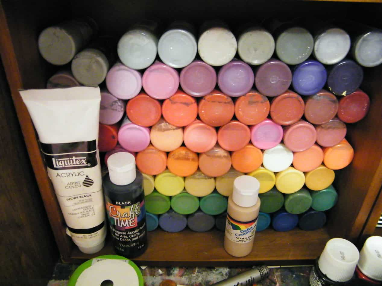 How to Store Acrylic Paint